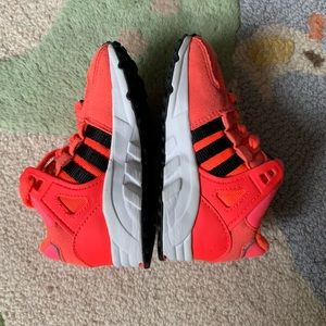 Adidas Equipment Toddler shoes Neon Pink Size 7
